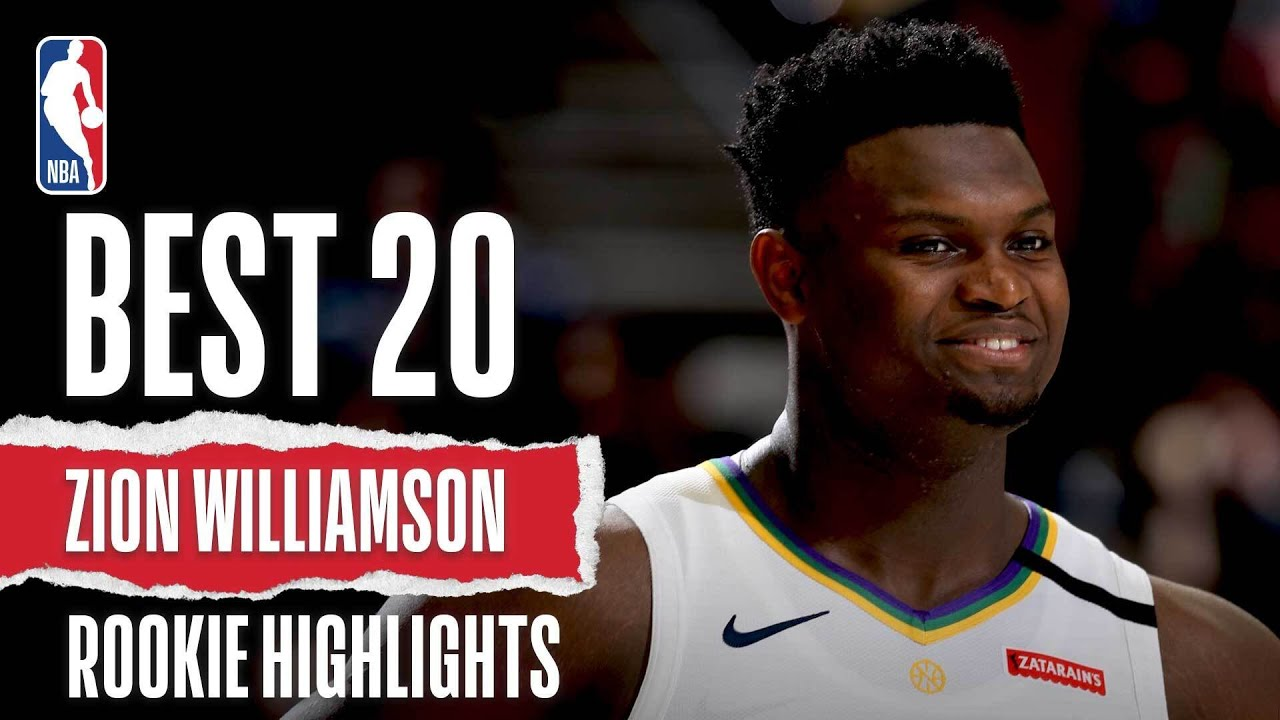 Zion Williamson's 20 BEST Rookie Highlights