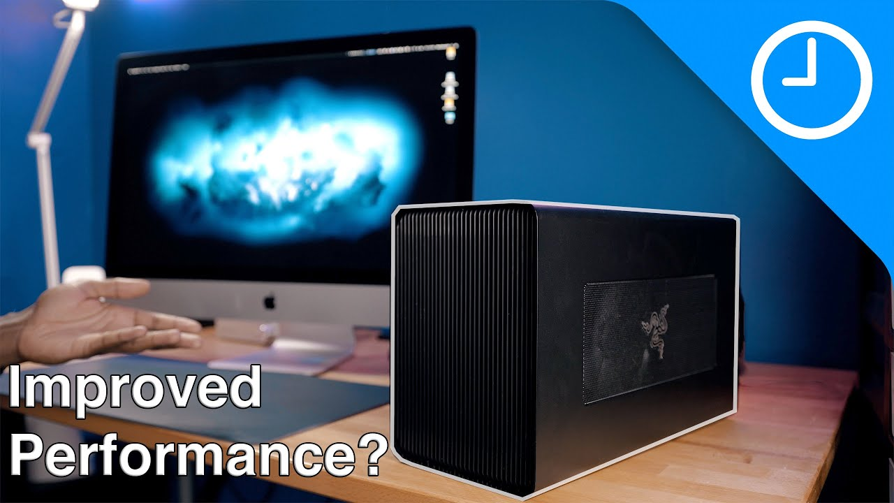 2020 ($1800) 5K iMac – Will an eGPU improve performance?