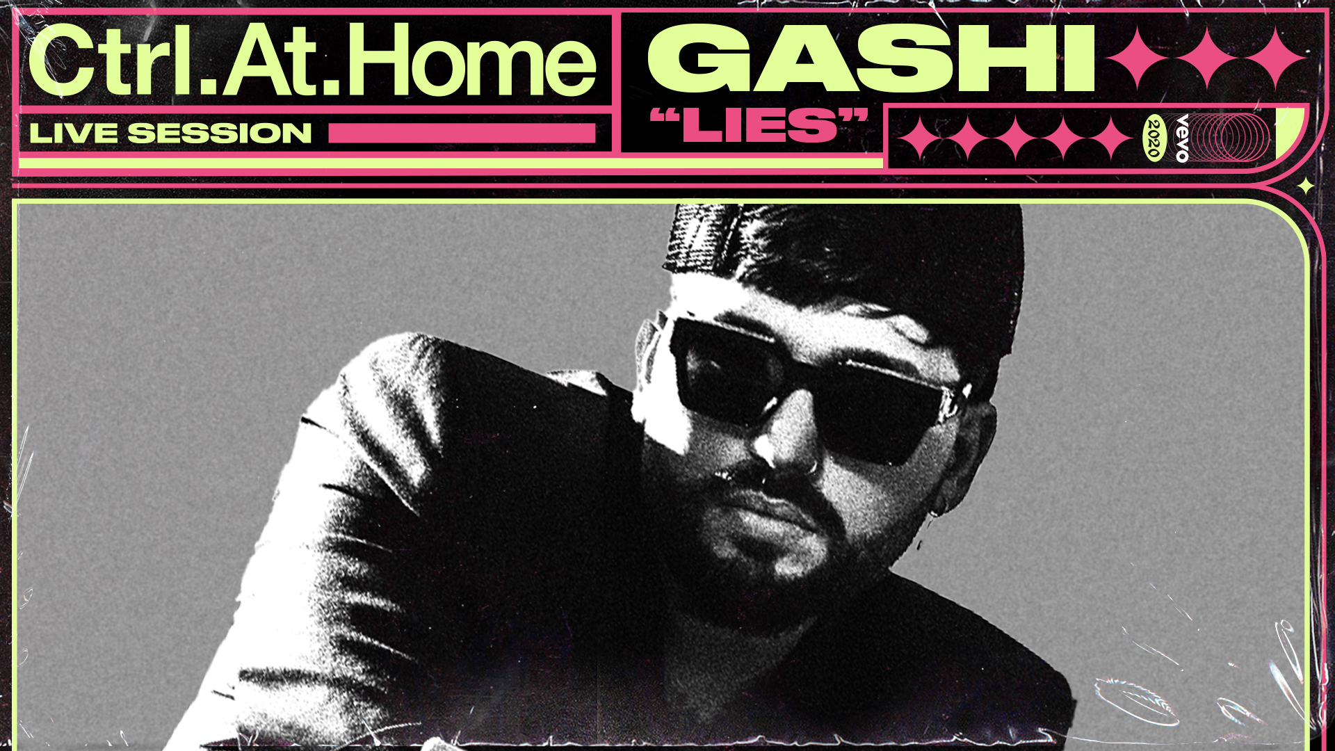 "Gashi and Vevo release Ctrl.At.Home performance of ""Lies"""