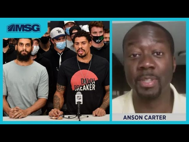 """Anson Carter Stands by """"It Was OK for NHL to Play"""" Comments, but Applauds Players for Solidarity"""