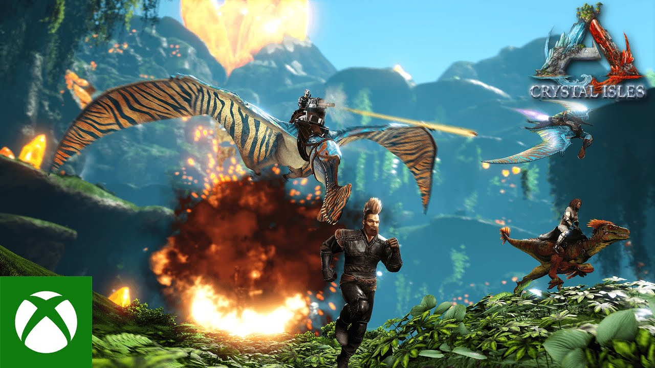 ARK: Crystal Isles – Available Now