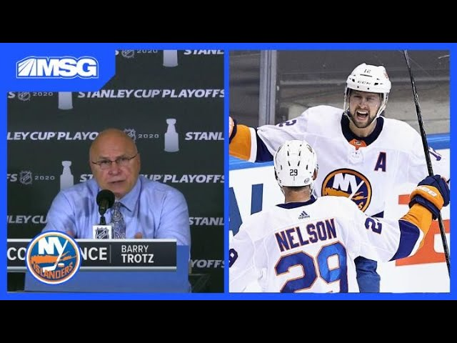 Barry Trotz on Defeating Capitals Stellar Offense For Playoff Win | New York Islanders