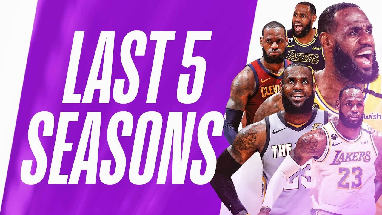 Best Of LeBron James Jelly Layups | Last 5 Seasons