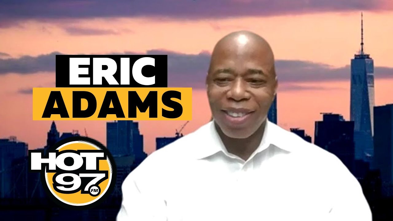 "BK Borough President Eric Adams On Shootings In NYC, Plainclothes Officers + ""Defund The Police"""