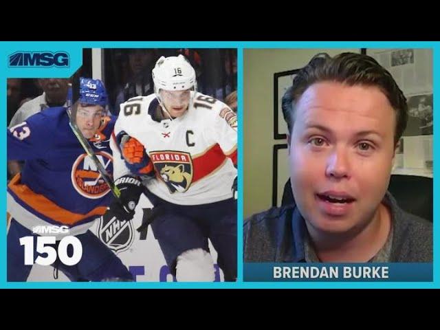 Brendan Burke Talks Islanders-Panthers, Ilya Sorokin & Calling Games Remotely