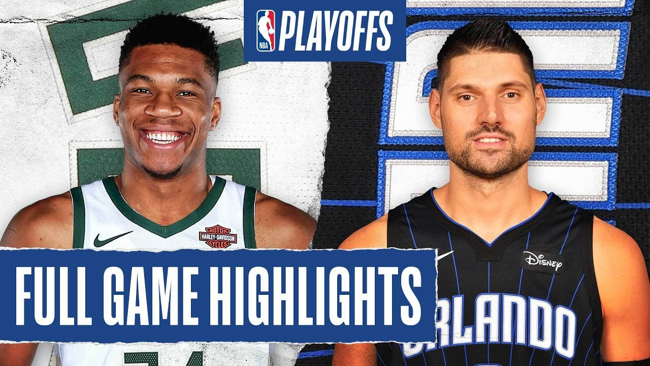 BUCKS at MAGIC | FULL GAME HIGHLIGHTS | August 24, 2020