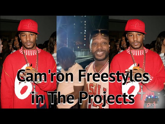Cam'ron Drops a Freestyle in The NYC Projects