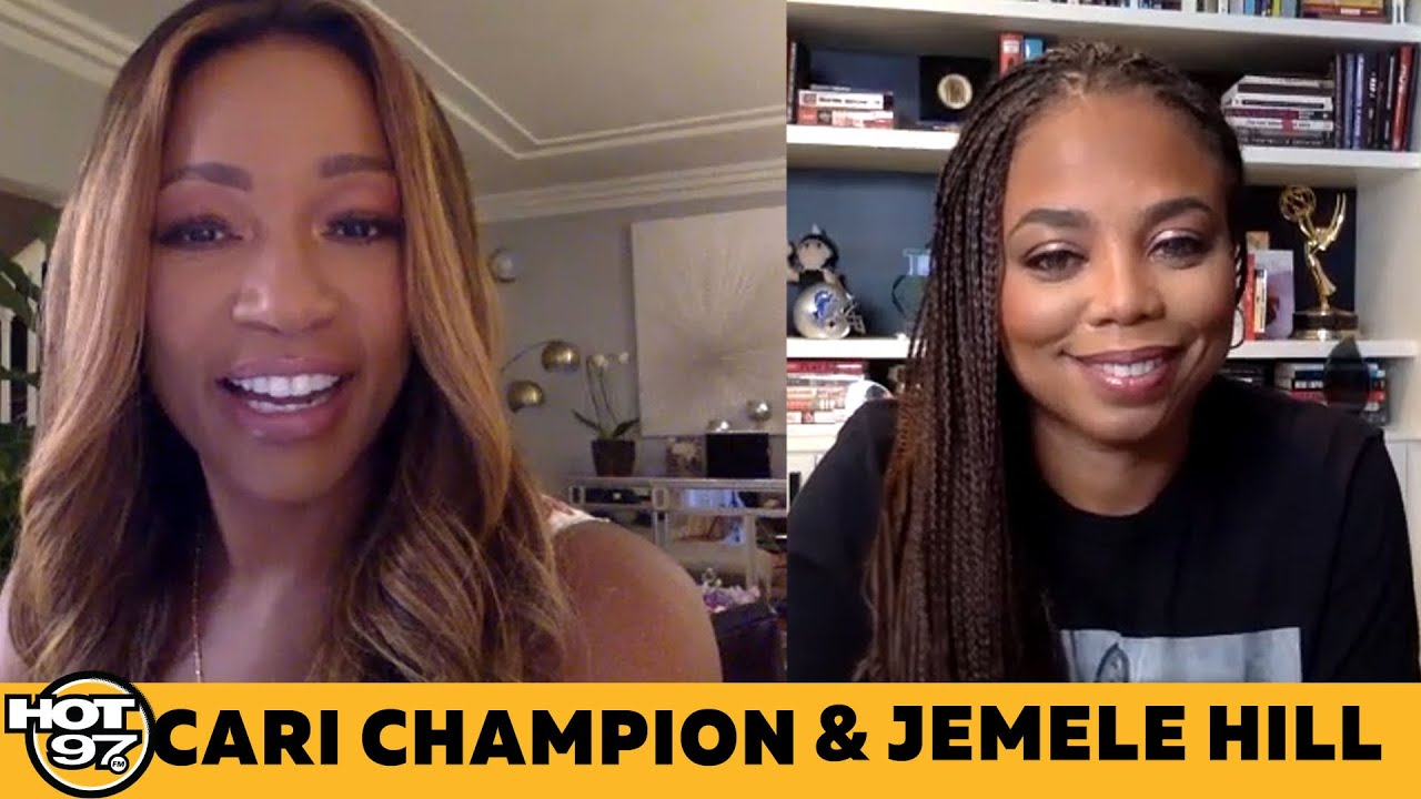 Cari Champion & Jemele Hill On Racism, Leaving ESPN + Is LeBron James The GOAT & Future Politician?