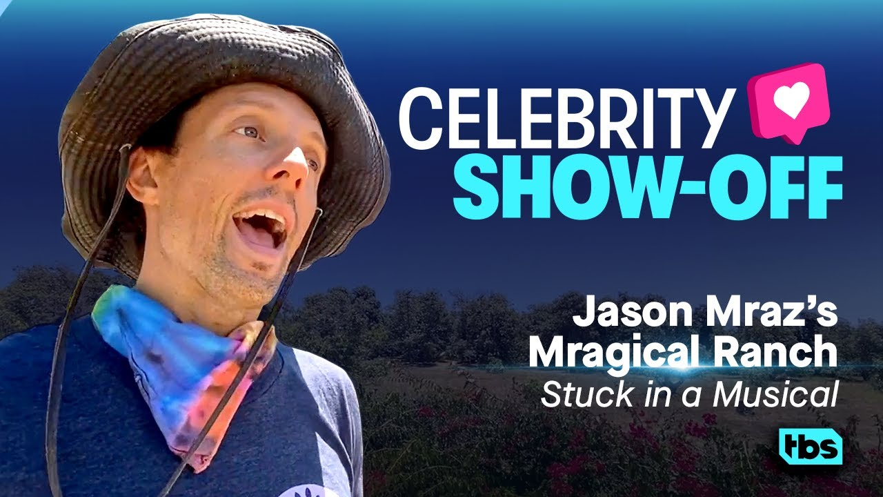 Celebrity Show-Off Jason Mraz's Mragical Mranch Stuck in a Musical