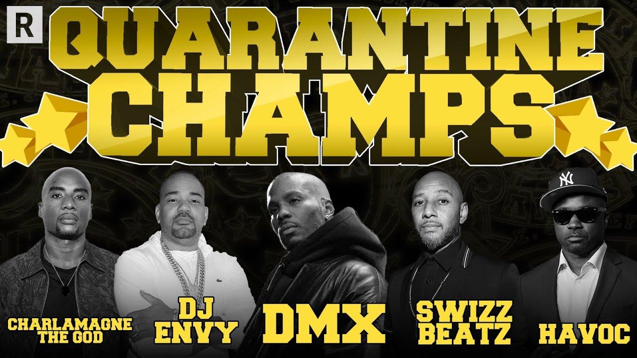 Charlamagne, DJ Envy, Swizz, Timbaland, DMX & More Talk Their Favorite Verzuz Battles | Drink Champs