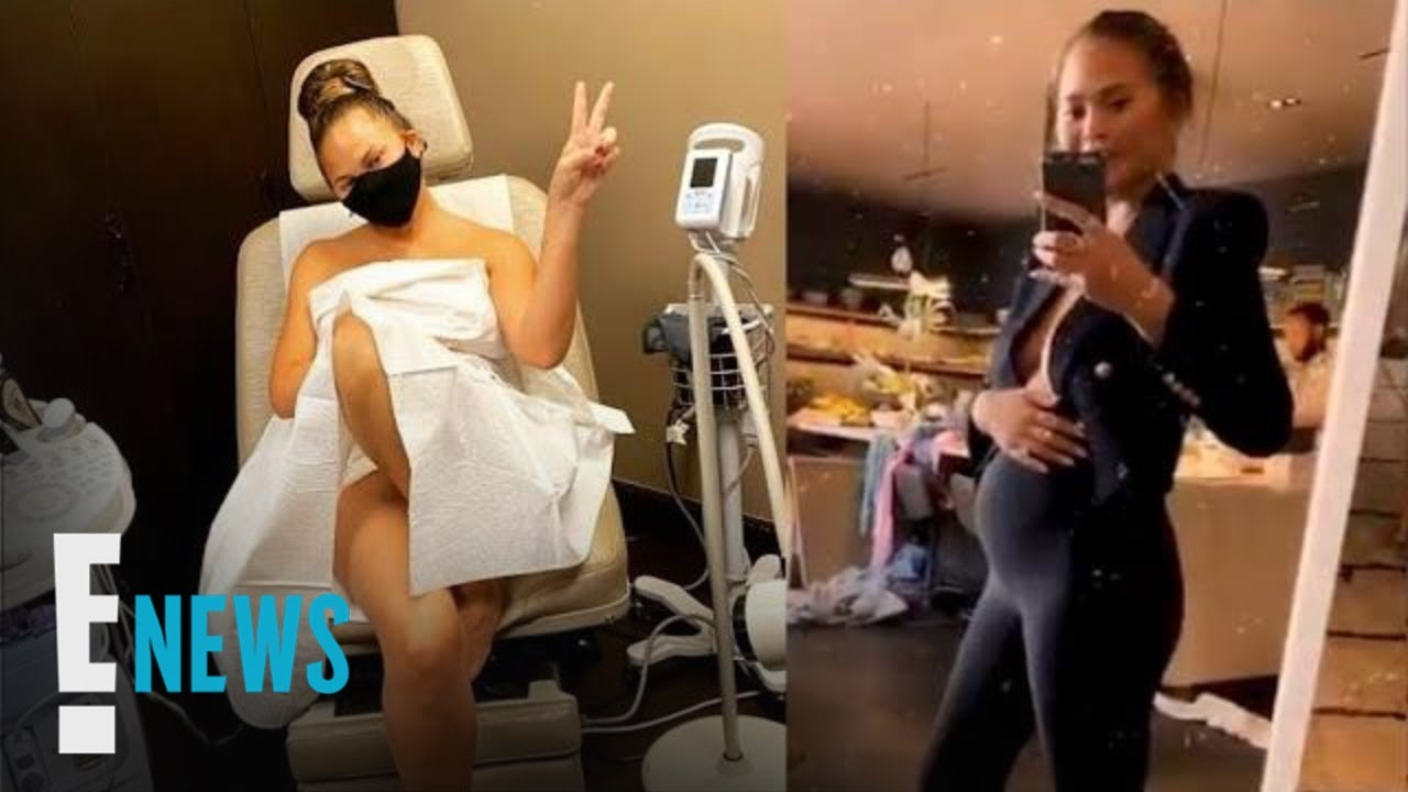Chrissy Teigen Was Pregnant During Breast Implant Removal Surgery | E! News