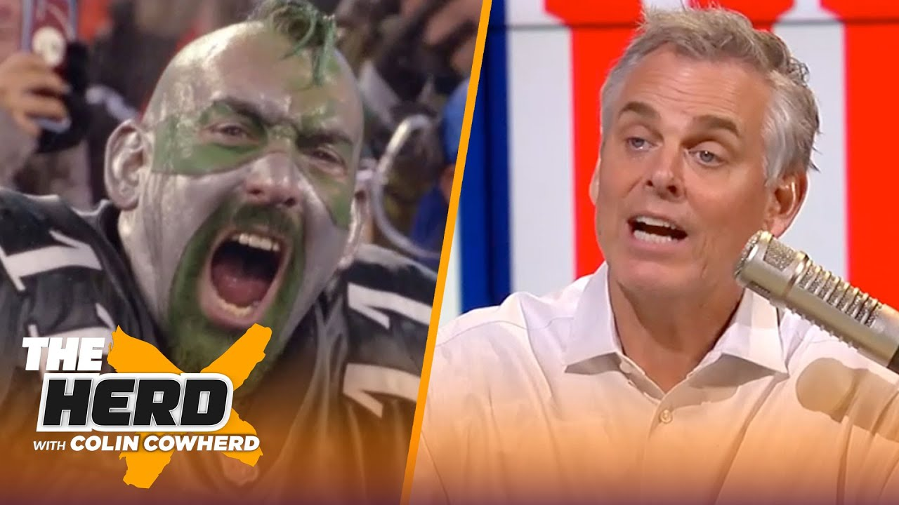 Colin Cowherd lists the Top 10 NFL Fan Bases in the league | NFL | THE HERD
