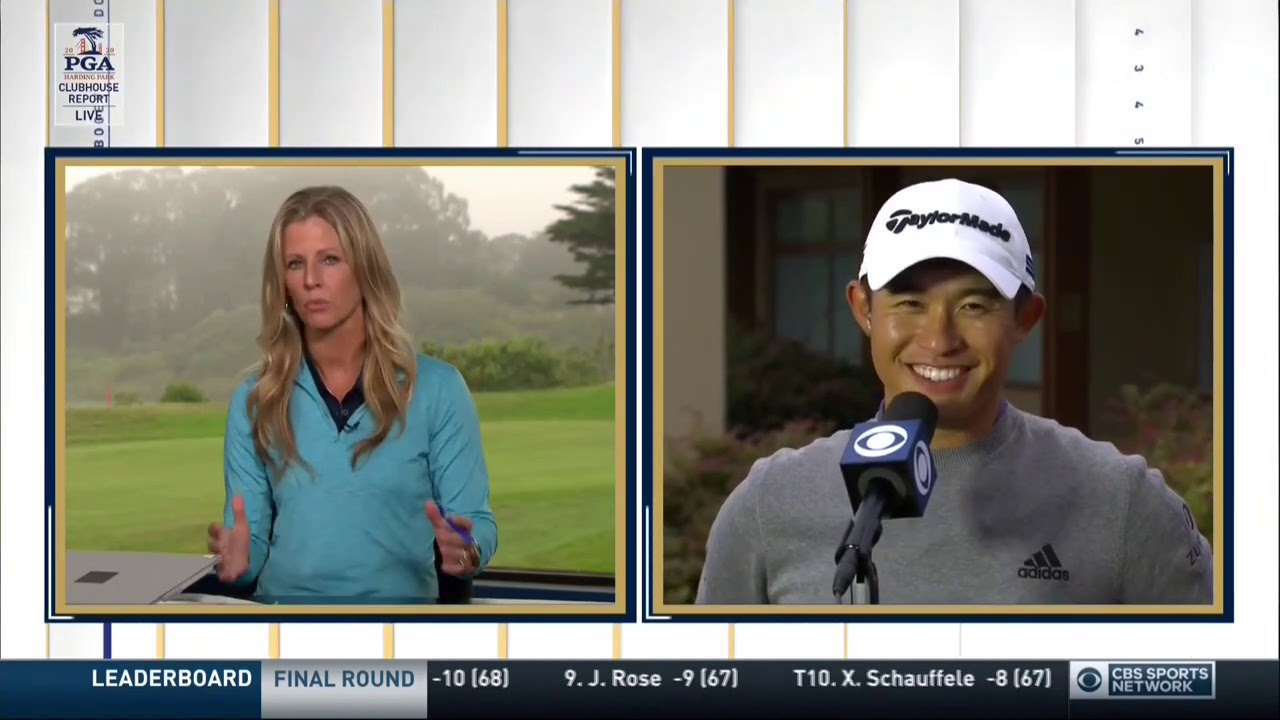 Collin Morikawa talks about his first Major win with Clubhouse Report | CBS Sports HQ