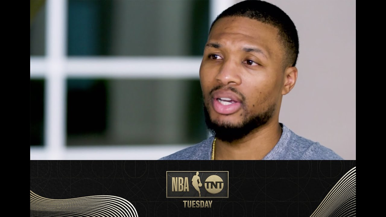 Damian Lillard Discusses His Comments About the Clippers and Portland's Playoff Hopes   NBA on TNT