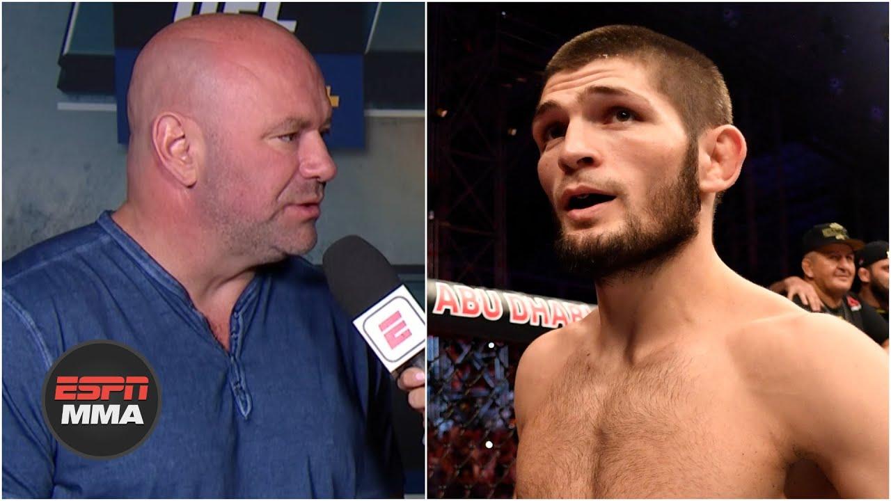 Dana White talks Khabib vs. Gaethje, Shahbazyan vs. Brunson | UFC Live | ESPN MMA