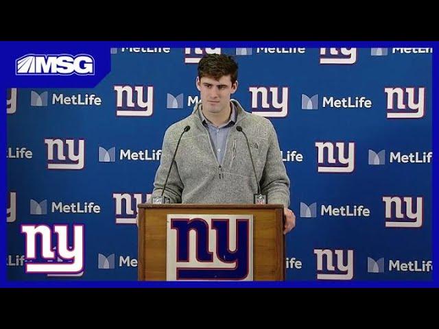 Daniel Jones Assesses His Rookie Season As Giants QB | Giants Post Game