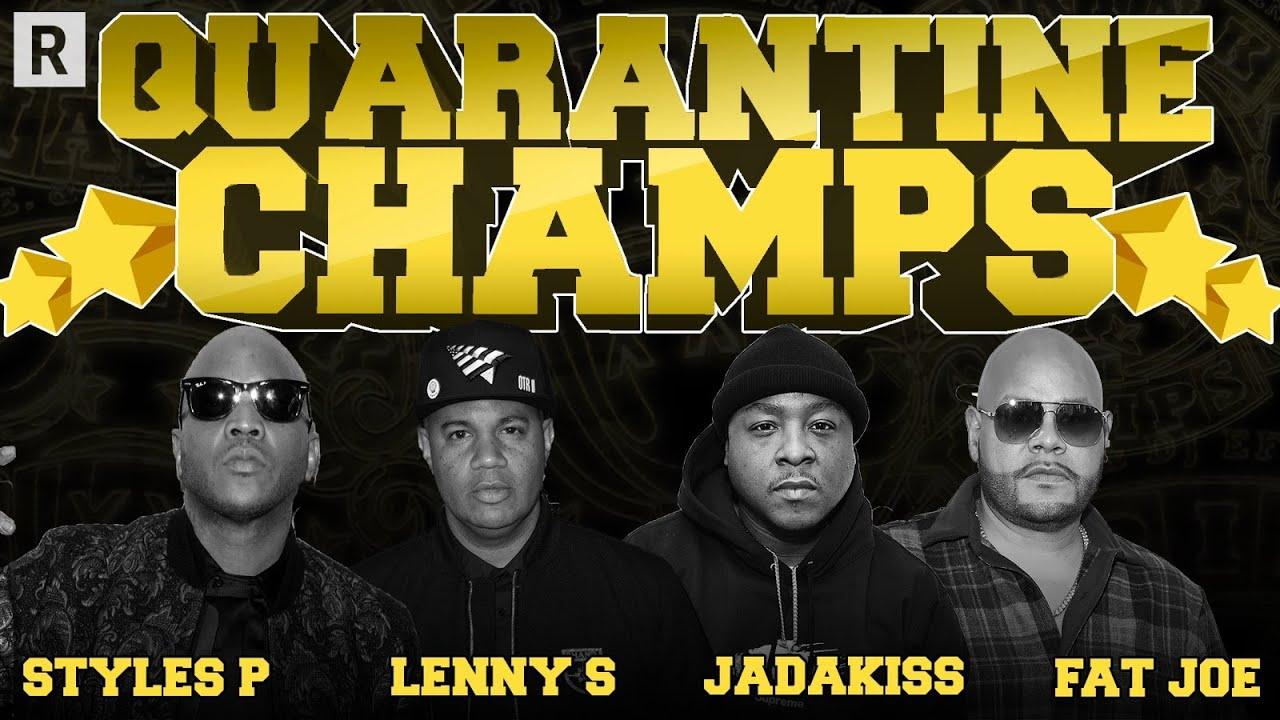 "Fat Joe & Lenny S On Eminem & JAY Z's ""Renegade"" Record, Jadakiss, Styles P & More | Drink Champs"