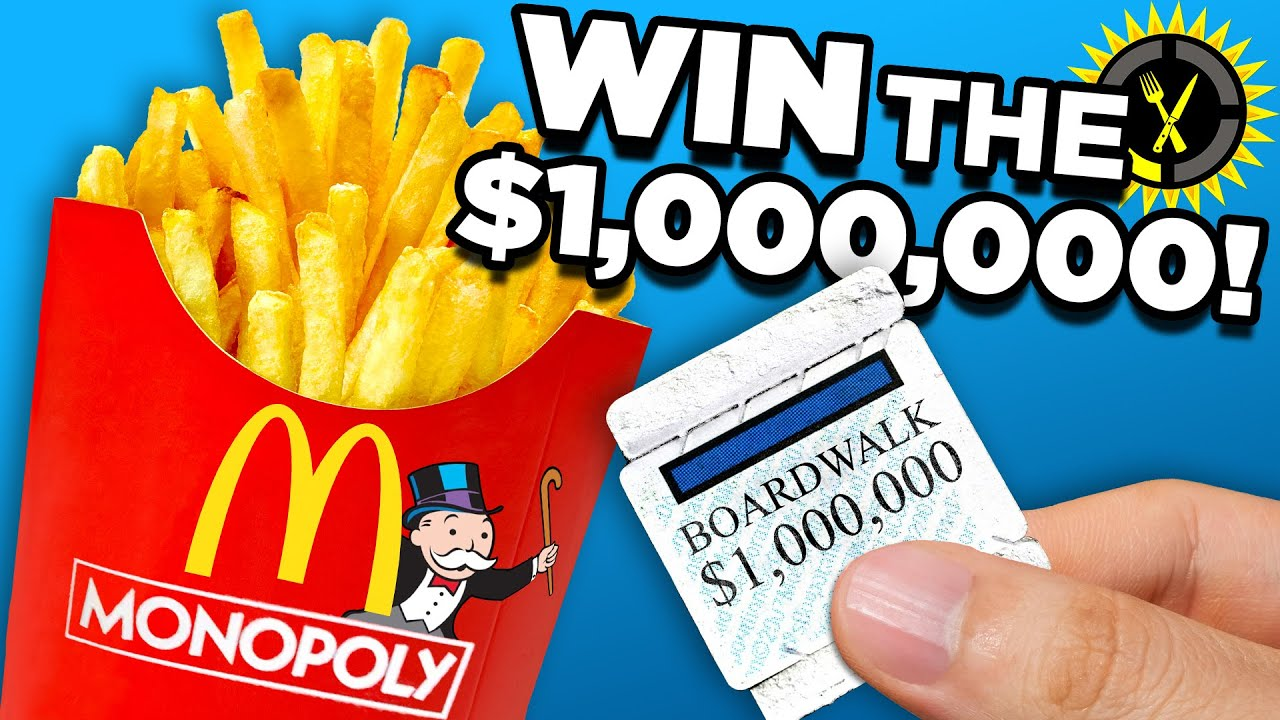 Food Theory: The TRUE Cost of Winning $1,000,000 at McDonald's (Monopoly)
