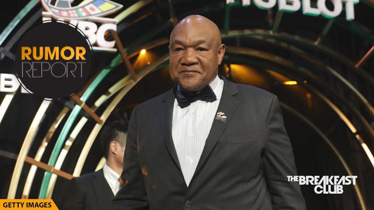 George Foreman Expresses Concern In Tyson Vs Jones Jr. Fight