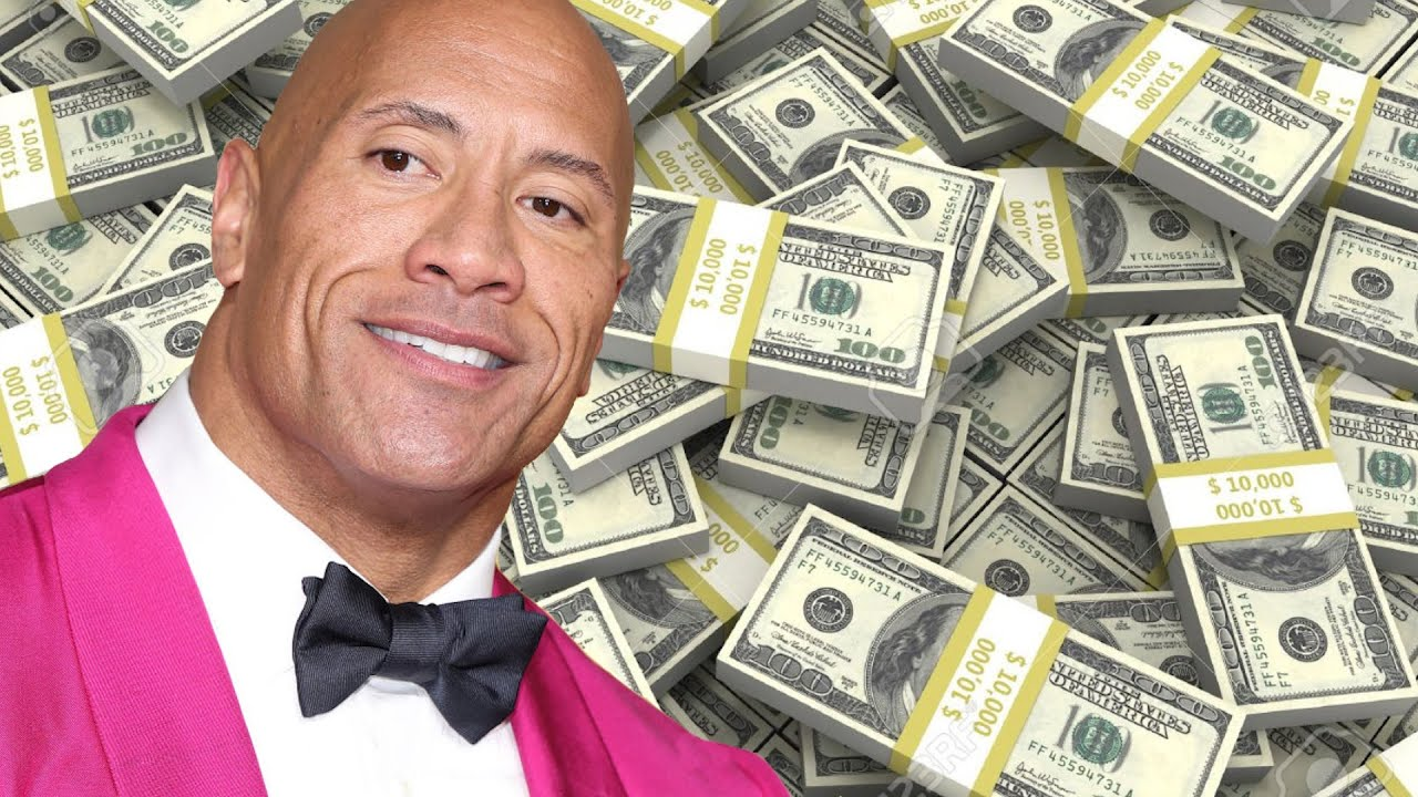 Get Ya Money Up! Dwayne 'The Rock' Johnson Tops Highest Paid List With This Staggering Amount
