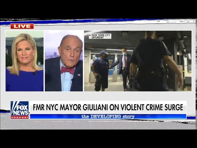 Giuliani calls on Trump to declare Black Lives Matter a domestic terror organization