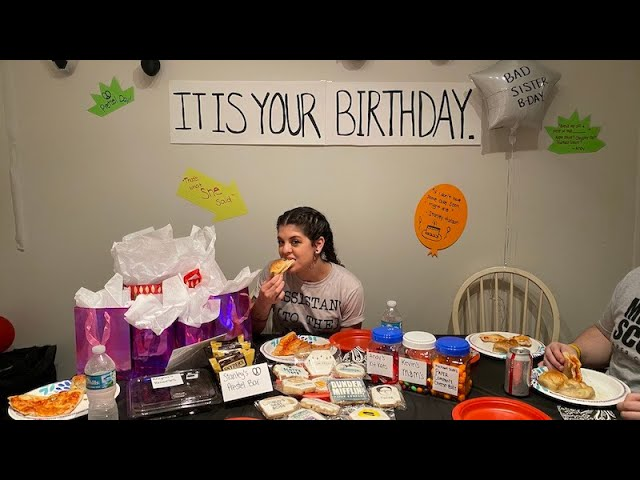 """I THREW AN """"THE OFFICE"""" THEMED PARTY FOR MY SISTER"""