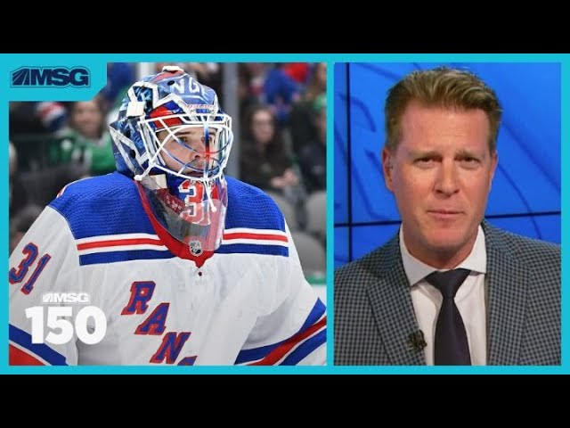 Igor Shesterkin Should Start for Rangers, Says Steve Valiquette | New York Rangers