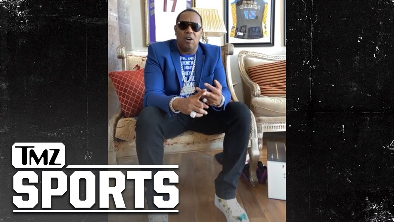J.Cole Seriously Training for NBA Career, Says Master P | TMZ Sports