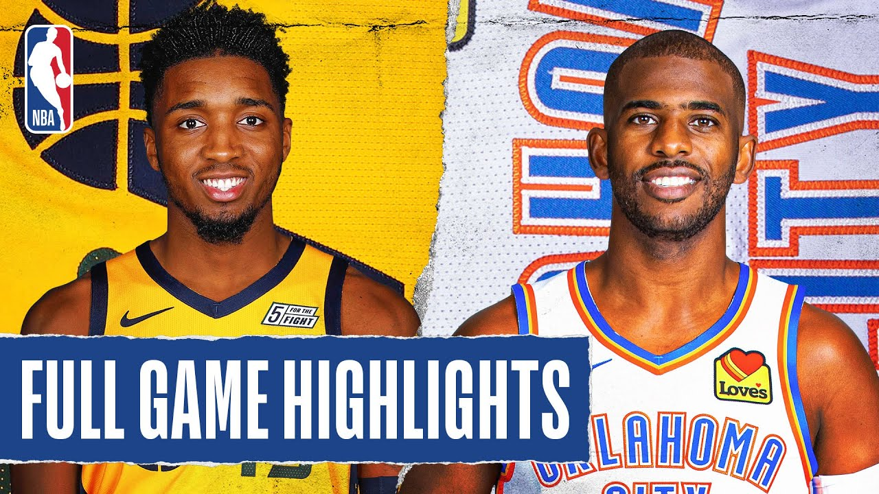 JAZZ at THUNDER | FULL GAME HIGHLIGHTS | August 1, 2020