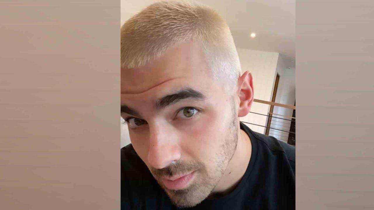 Joe Jonas Dyes Hair Platinum Blonde After Becoming A Dad