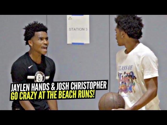 Josh Christopher & Jaylen Hands GO CRAZY at The Beach Runs!!