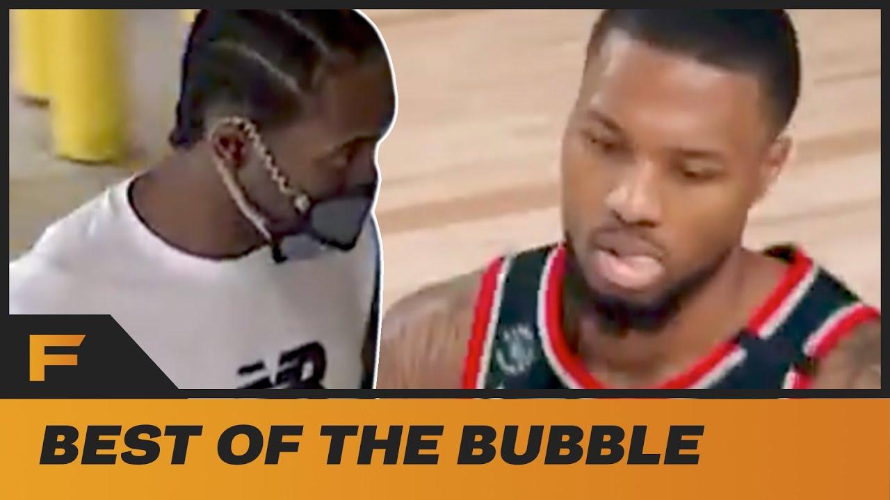 Kawhi Leonard IGNORES Media & Damian Lillard Goes DUMB After RIDICULOUS Shot! | Best Of The Bubble