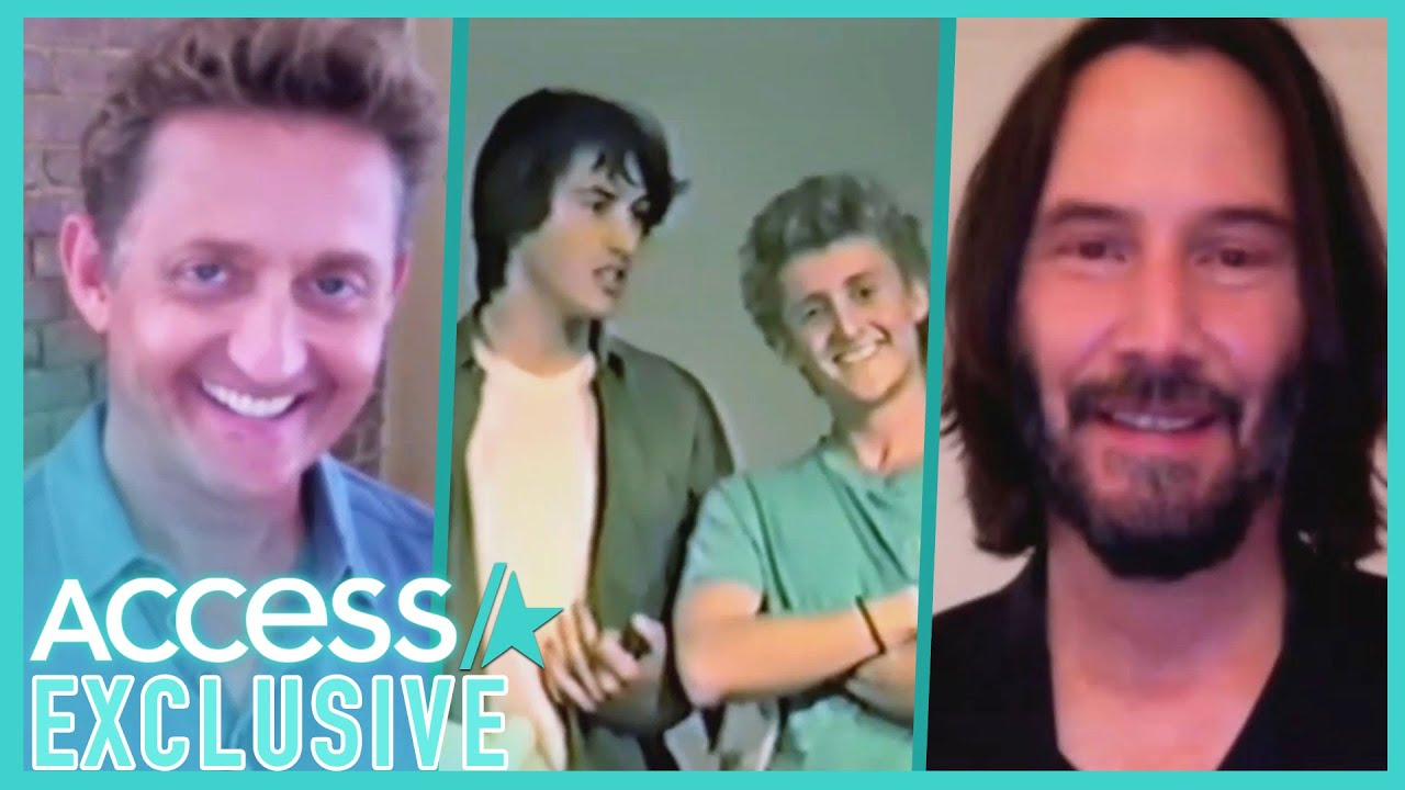 Keanu Reeves & Alex Winter Remember Their 'Bill & Ted' Audition