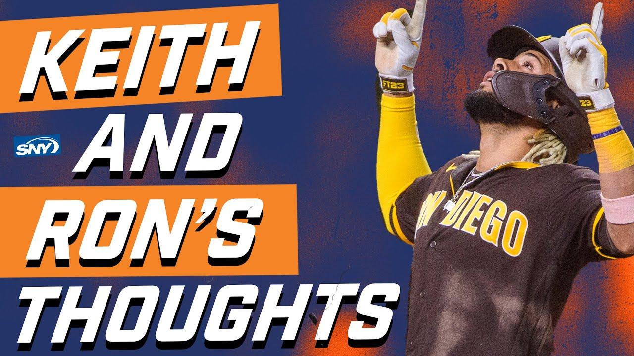 Keith Hernandez: What Fernando Tatis Jr. did was 'selfish' and 'inexcusable' | New York Mets | SNY