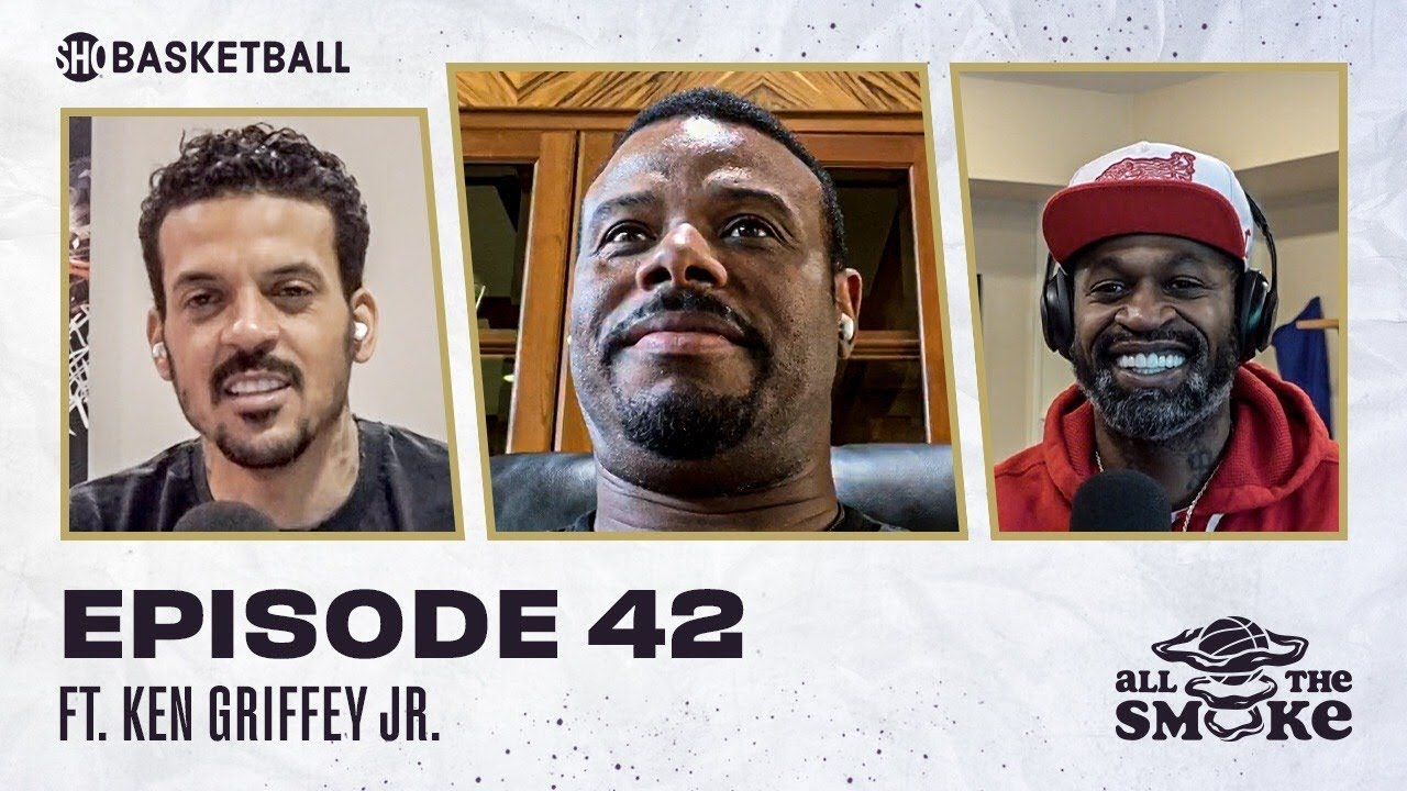 Ken Griffey Jr. | Ep 42 | ALL THE SMOKE Full Episode | #StayHome with SHOWTIME Basketball