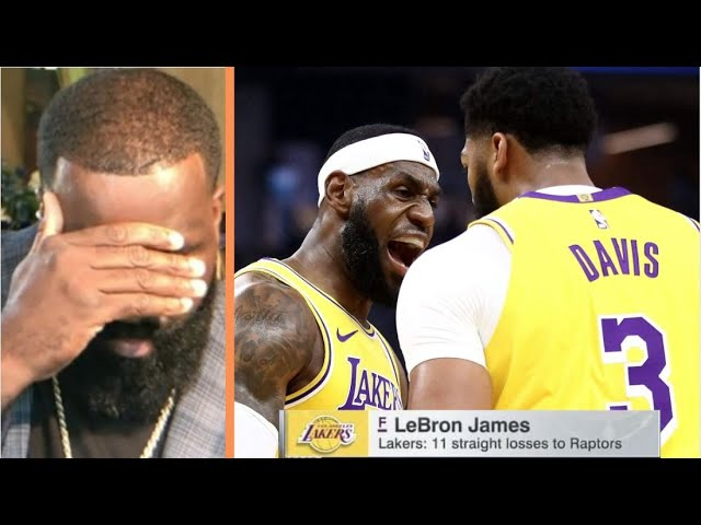 Kendrick Perkins DISAPPOINTED on LeBron James & AD, this is 11 times they're lose to Raptors