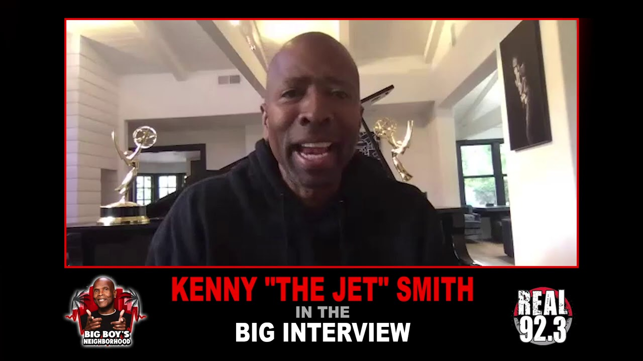 KENNY THE JET SMITH IN THE BIG INTERVIEW