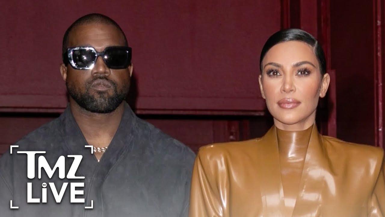 Kim Kardashian and Kanye West in Tropical Island Fortress to Avoid Paparazzi | TMZ Live