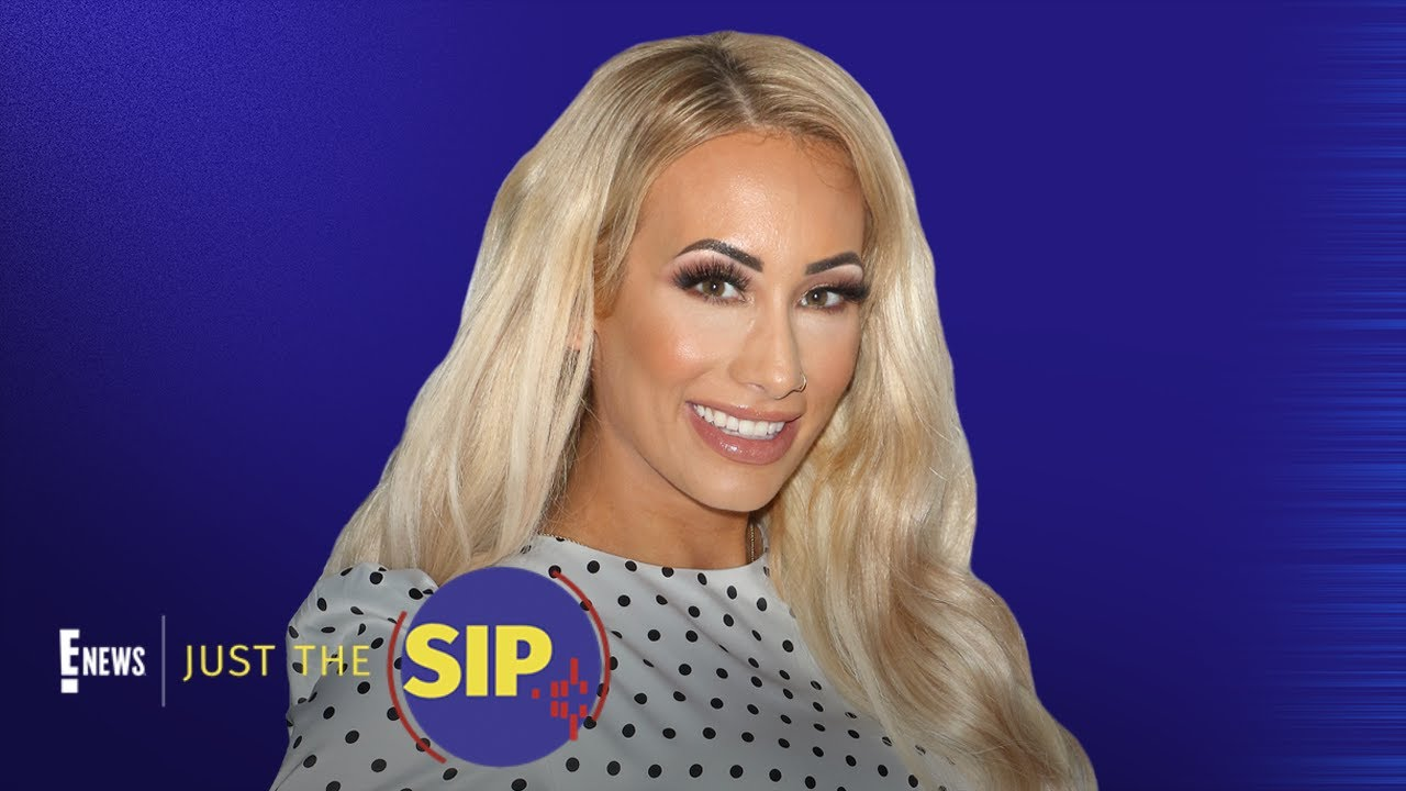 Leah Van Dale aka Carmella Bares It All | Just The Sip | E! News
