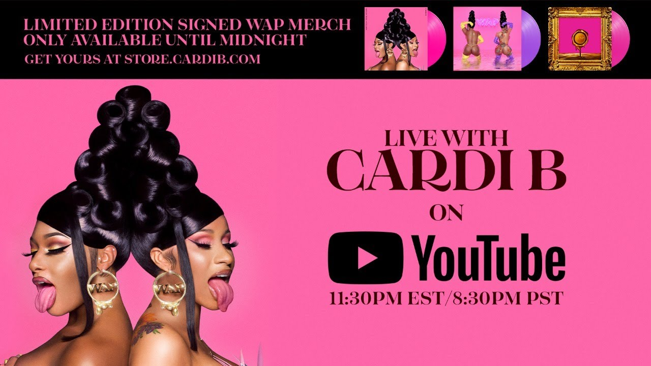 Live with Cardi B
