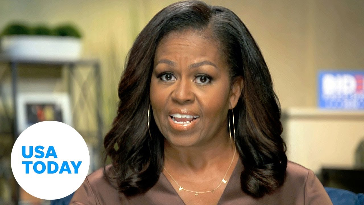 "Michelle Obama DNC 2020: Trump ""in over his head' (FULL) 