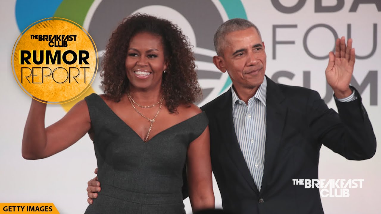 Michelle Obama Pulls Barack For First Episode Of Spotify Podcast