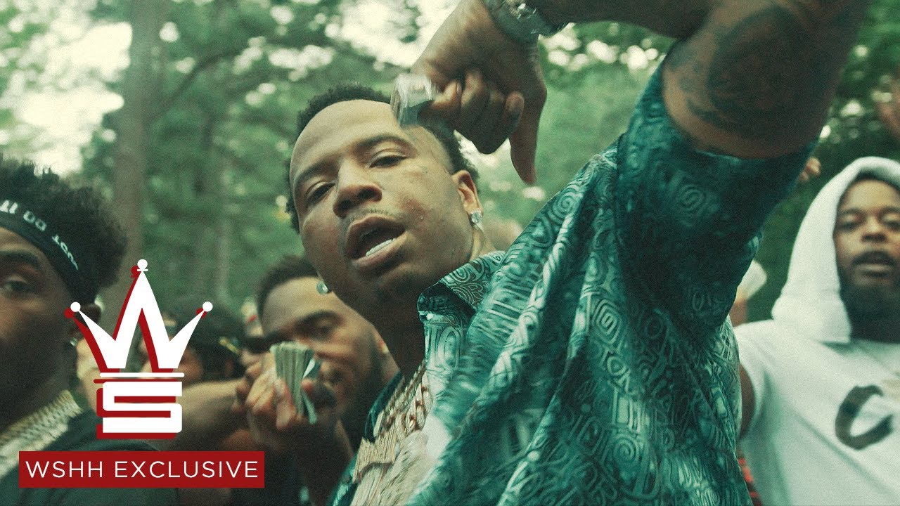 "Money Mu – ""Hittin' Remix"" feat. MoneyBagg Yo & Foogiano (Official Music Video – WSHH Exclusive)"