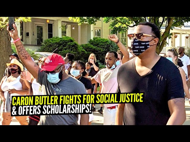 NBA Champion Caron Butler is a Major Leader Pushing for Social Justice Nationwide