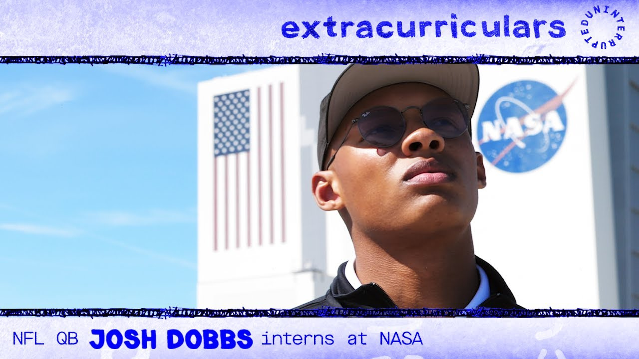 NFL QB and rocket scientist Josh Dobbs interns at NASA | EXTRACURRICULARS