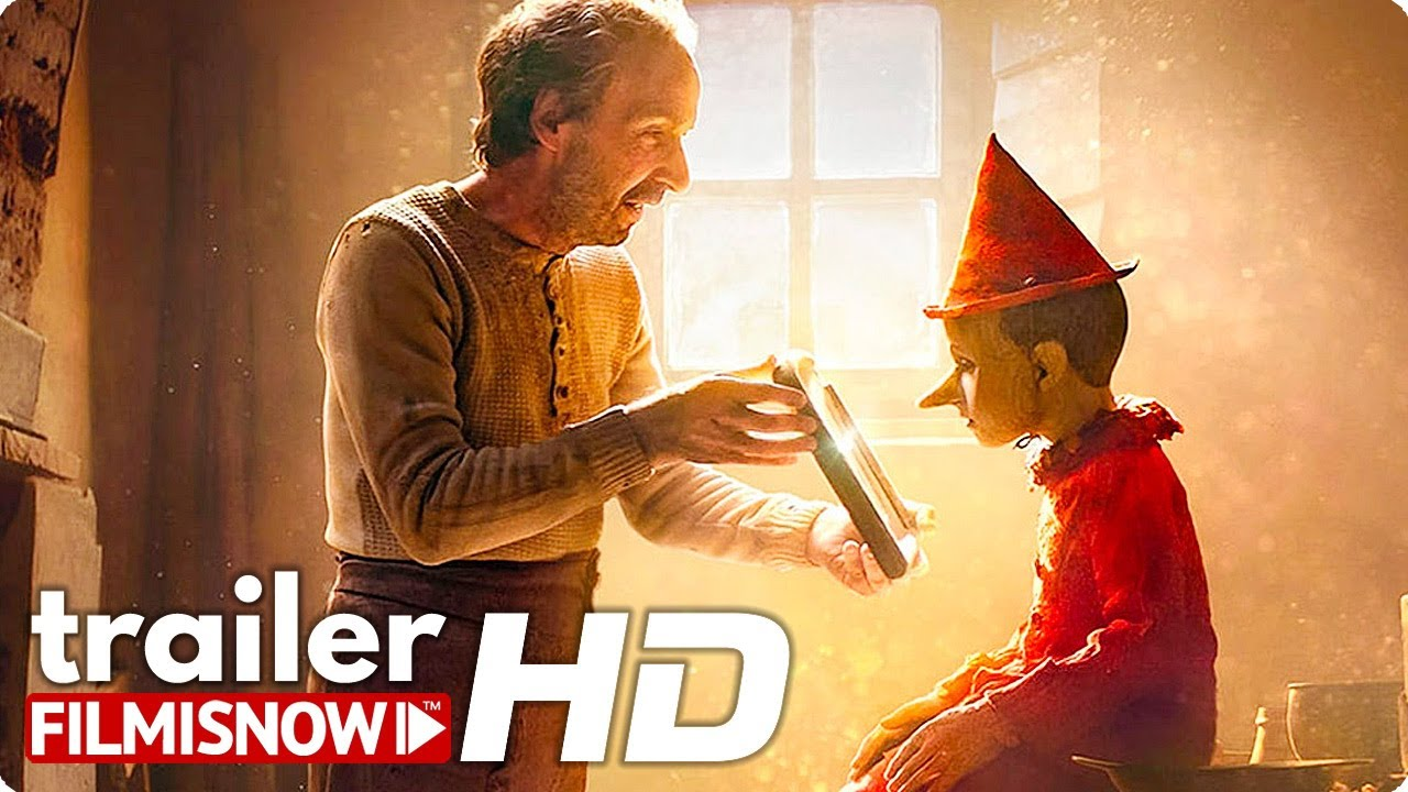 PINOCCHIO Trailer (2020) Roberto Benigni Live-Action Movie