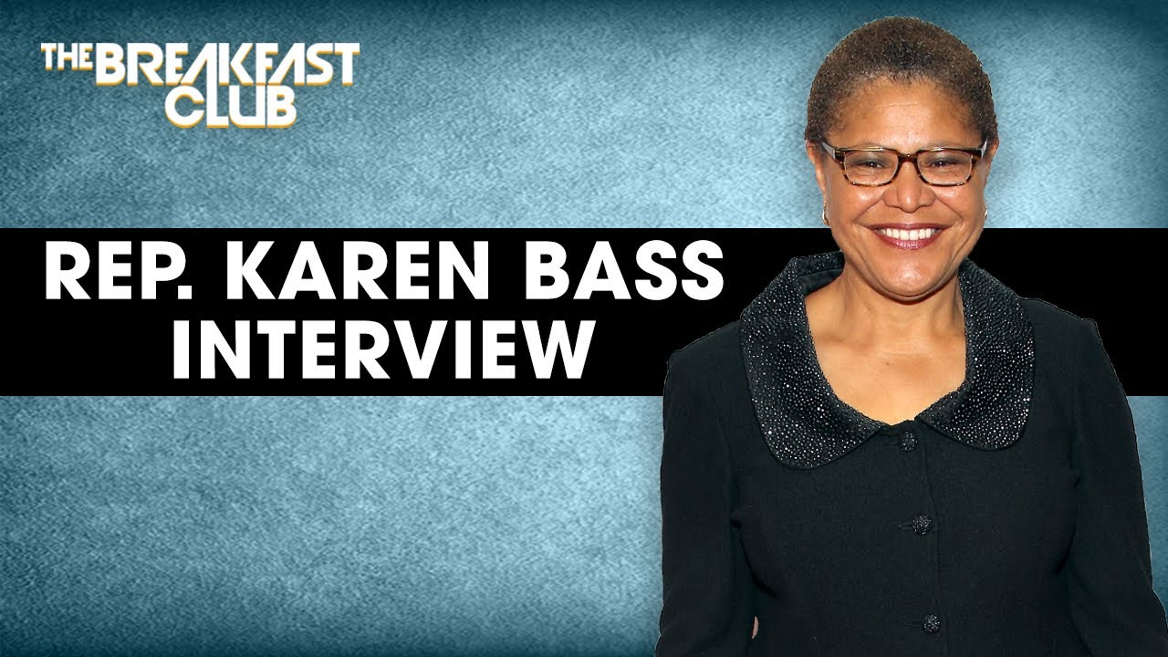 Rep. Karen Bass Speaks On Justice In Policing Act, Potential Vice Presidential Pick + More