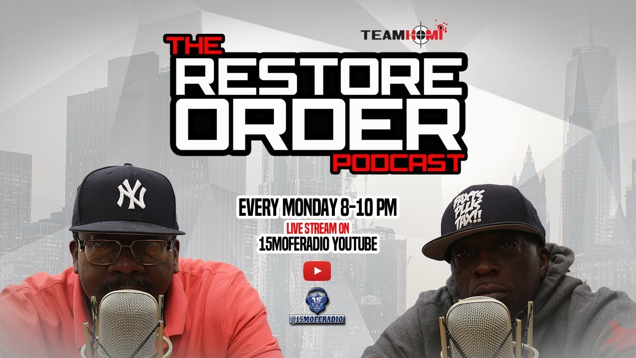 RESTORE ORDER PODCAST W SPECIAL GUEST BLACK COMPASS MEDIA
