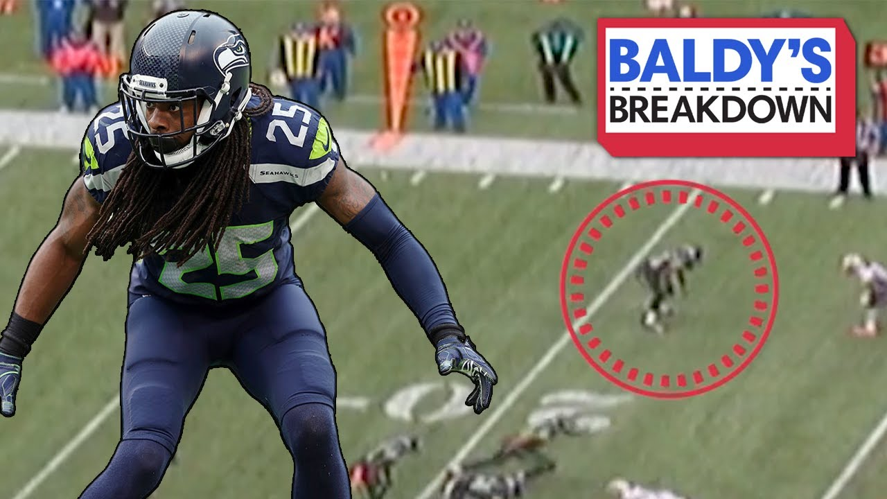 Richard Sherman Shutdown Corner vs Patriots! | Baldy Breakdowns