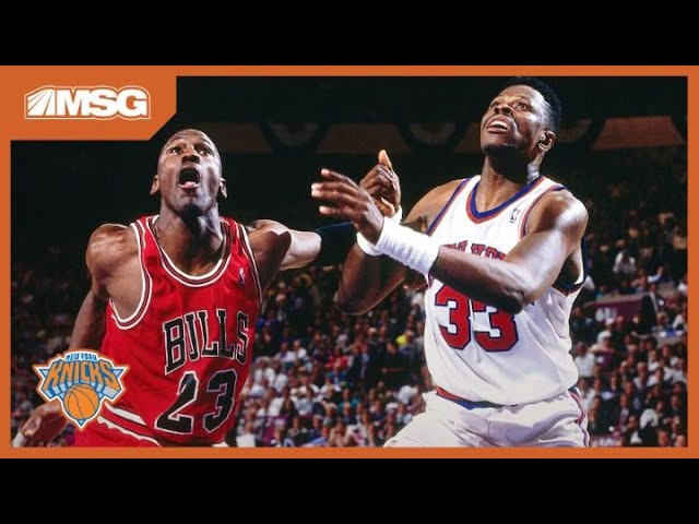 Rivalry With Michael Jordan Fueled Patrick Ewing's Hunger for a Championship With Knicks